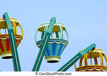 Carnival Ride - Photo of a Carnival Ride.