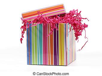 Striped Giftbox