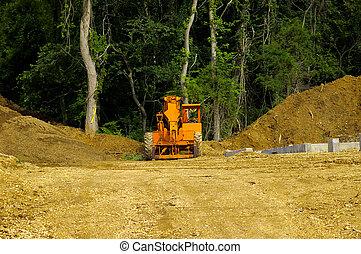 Construction Site - Photo of a Construction Site
