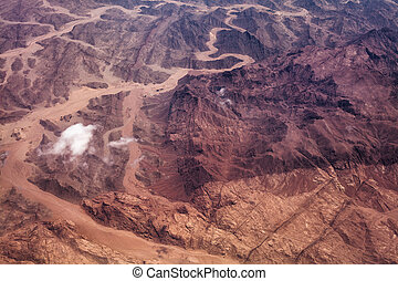 Photo of a desert