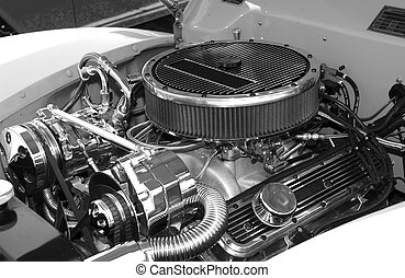 Engine Block - Photo of a Engine Block - Hotrod ENgine - Air...