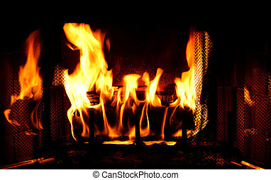 Fireplace - Photo of a Fireplace