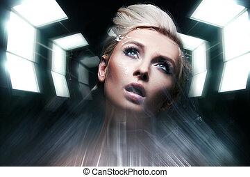 Photo of a future woman