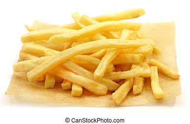 Photo of a macro french fries