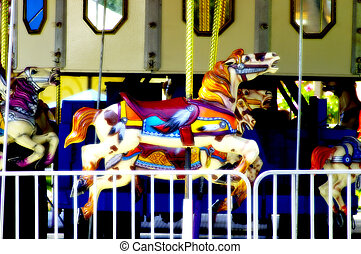 Merry Go Round Horse