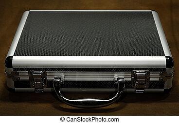 Photo of a Metal Attache Case