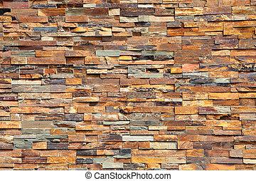 Photo of a plain stone wall