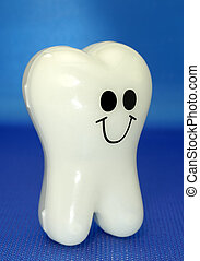 Tooth - Photo of a Plastic Toy Tooth - Dental Related