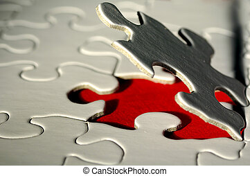 Puzzle - Photo of a Puzzle