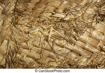 Straw - Photo of a Straw Material - Background / Texture