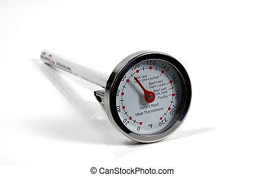 Photo of a Temperature Gauge
