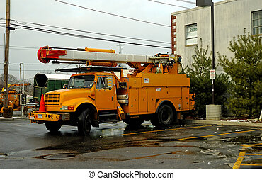 Utility Truck - Photo of a Utility Truck
