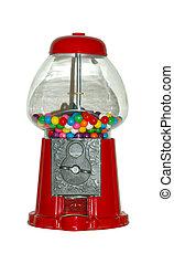 Gumball Machine - Photo of a Vintage Gumball Machine -...