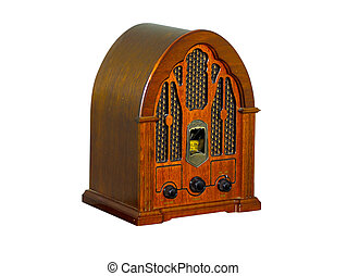 Vintage Radio - Photo of a Vintage Radio