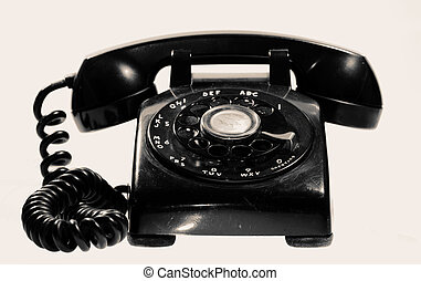Vintage Telephone - Photo of a Vintage Telephone