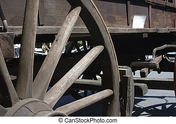 Wagon Wheel - Photo of a Wagon Wheel