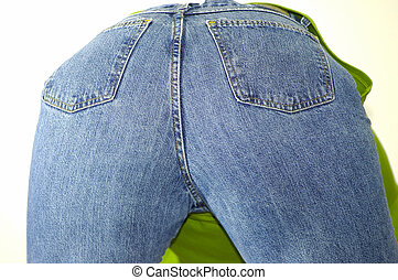 Womans Backside - Photo of a Womans Backside