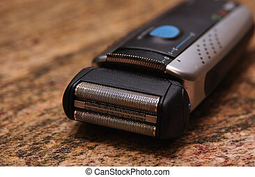 Electric Shaver - Photo of an Electric Shaver.
