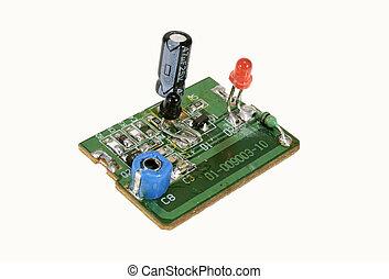 Photo of an Electronic Circuit Board