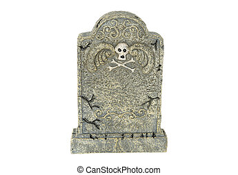 Tombstone - Photo of an Isolated Tombstone