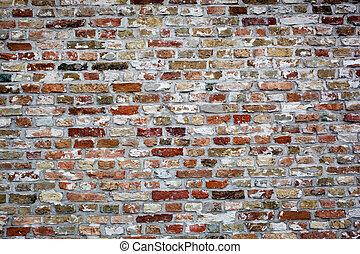 brick wall texture - photo of an old brick wall texture