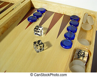 Photo of Backgammon Board