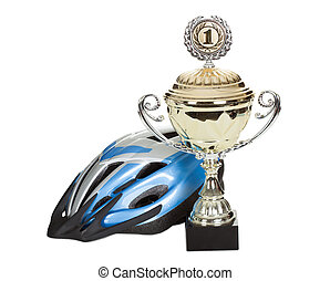 Photo of bicycle helmet