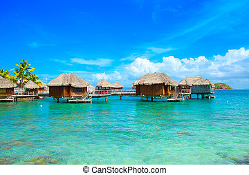 Bora-Bora Tourist Resort Lagoon - Photo of  Bora-Bora ...