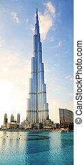 Dubai, UAE - Photo of Burj Khalifa in Dubai, UAE