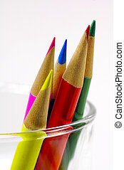 Colored Pencils - Photo of Colored Pencils in a Cup