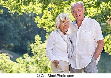Photo of elder marriage