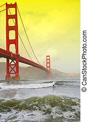 photo of golden gate bridge, san francisco, ca, usa - photo...