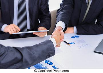 Photo of handshake