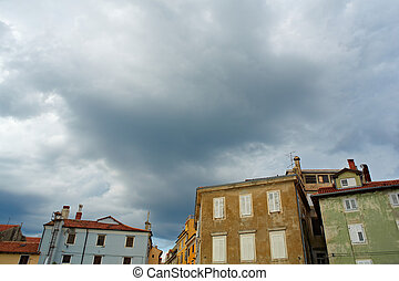 Piran - Photo of houses in Piran, Slovenia