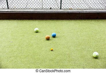 Italian Bowls game - Photo of Italian Bowls game