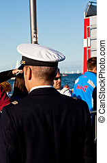 Italian sailor in uniform