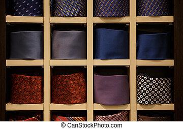 Photo of man ties