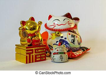 Maneki Neko - Japanese welcoming cat