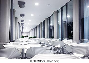 Photo of modern restaurant