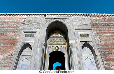 Photo of old gate in Istanbul