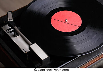 Photo of old music player