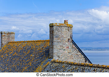 photo of old roof