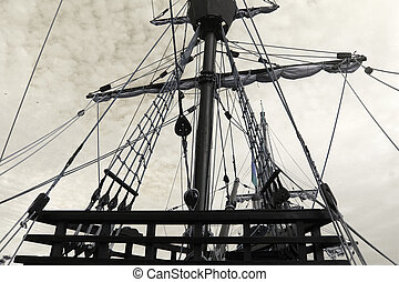 photo of old ship