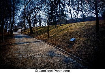 Park Spilberk - Photo of Park Spilberk in Brno, the Czech...