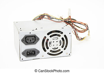 Photo of power supply with wires