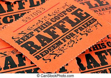 Raffle Tickets - Photo of Raffle Tickets