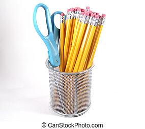 Scissor and Pencils