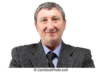 Photo of senior business man