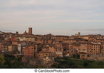 Photo of Siena in Italy in Tuscany