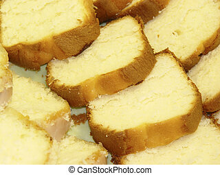 Pound Cake - Photo of Sliced Pound Cake